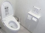 トイレリフォーム空間を拡張し、希望通りの手洗いを設置したトイレ
