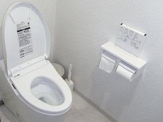トイレリフォーム 空間を拡張し、希望通りの手洗いを設置したトイレ